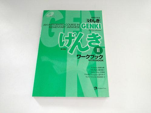 Libro Genki 2 Workbook (inglés)