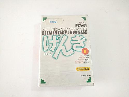 "Genki 2 - ""6""CD de aprendizaje"