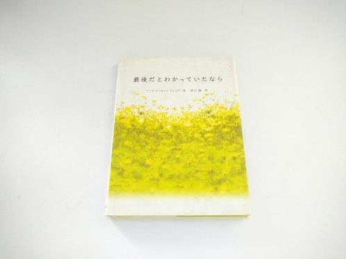 Novela (Si entendirera que es el final) - Japonés