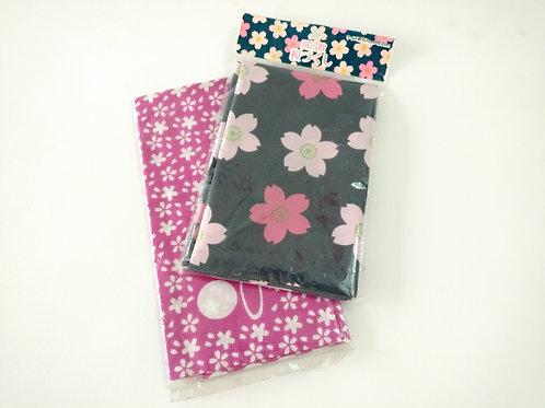 Pañuelos con estampados para empacar el Bento 67x67 cm