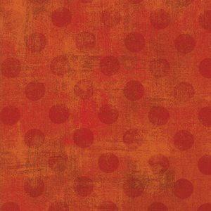 Grunge Spots - Pumpkin - 1/2 m