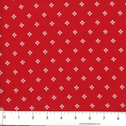 Small Wonders Red - Wideback - Red - 1/2 meter