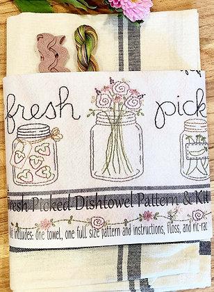 Bareroots #254 Fresh Picked Dishtowel Kit