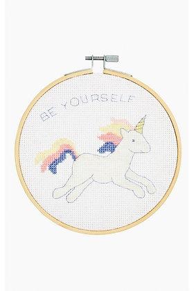 Unicorn Cross-Stitch Kit