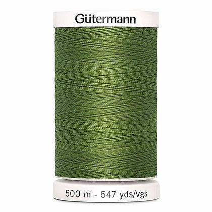 Gutermann 100% Polyester Thread - 500m - Moss Green