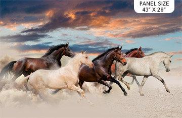 Maverick - Galloping Mustang Panel