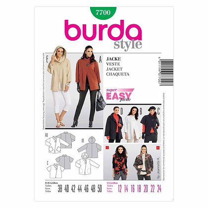 Burda Easy - Jacket Pattern