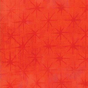 Grunge Seeing Stars - Tangerine - 1/2 m