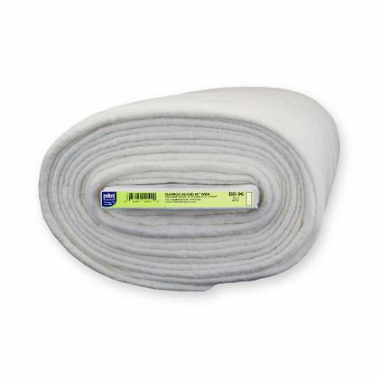 """Pellon Bamboo/Cotton Batting - 96"""" wide (by the half meter)"""