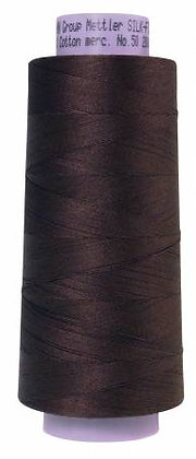 Mettler 100% Cotton Thread (50 wt) - Black Peppercorn #1382