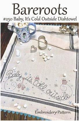 Bareroots #250 Baby, It's Cold Outside Dishtowel Kit