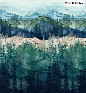Whispering Pines - Wideback - 1/2 meter