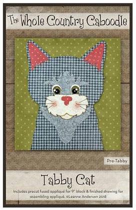 Tabby Cat - Precut Fused Applique Pack