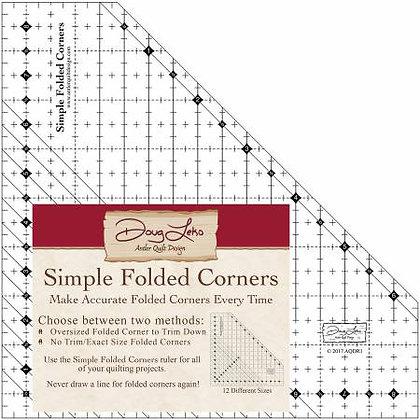 Simple Folded Corners Ruler