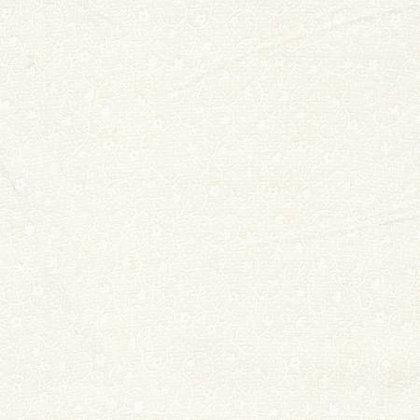 """White on White Flower - Tone on Tone - 56"""" x 44"""""""
