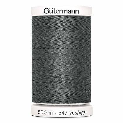 Gutermann 100% Polyester Thread - 500m - Rail Grey