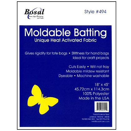 "Bosal Moldable Batting - 18"" x 45"""