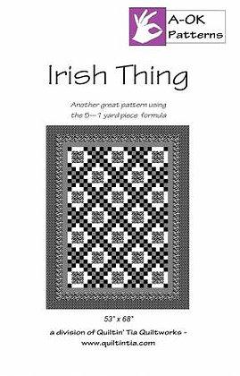 Irish Thing - A-OK 5 Yard Pattern