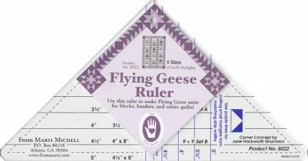Flying Geese Ruler - Marti Michell
