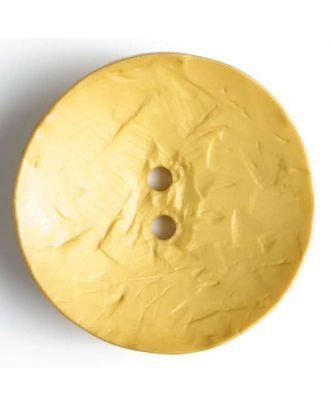 Fashion Button - 45mm - Golden Yellow