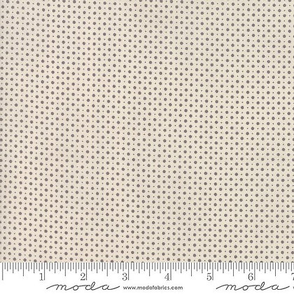 Metropolis Polka Dot (Cream/Grey)- 1/2 meter
