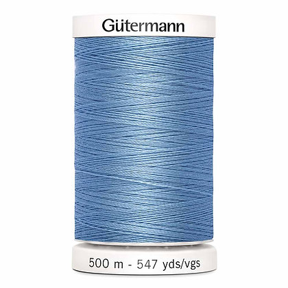 Gutermann 100% Polyester Thread - 500m - Copen Blue