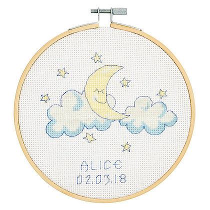 Baby Moon Cross-Stitch Kit