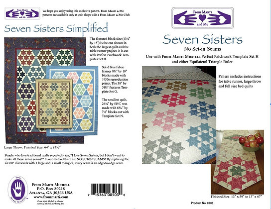 Seven Sisters Pattern - Marti Michell