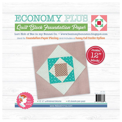 "12"" Economy Plus Quilt Block Foundation Paper"