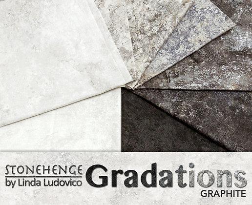 "Gradations Graphite - 10"" Tiles"