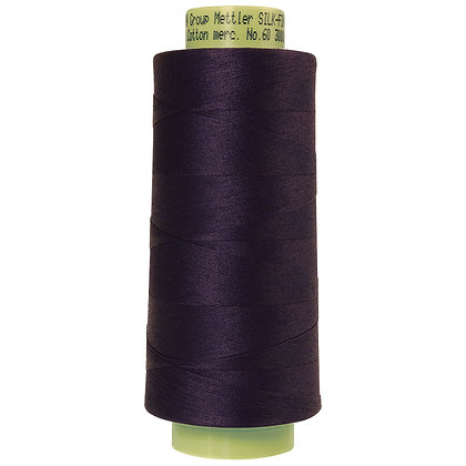 Mettler 100% Cotton Thread (60 wt) - Dark Indigo #0016