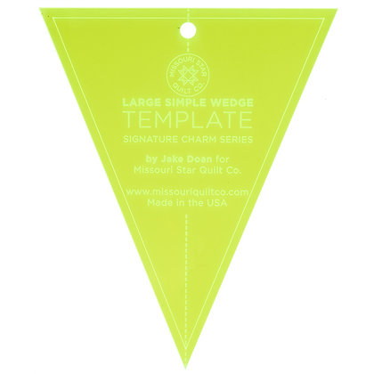 Simple Wedge Large Template - 10""