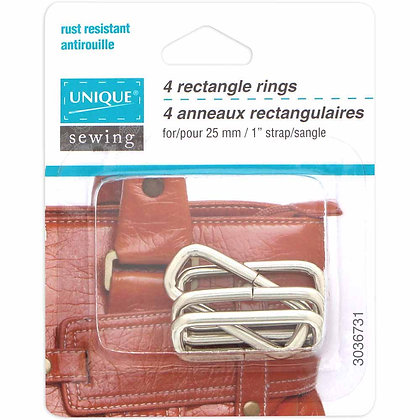 Rectangle Rings - 1""