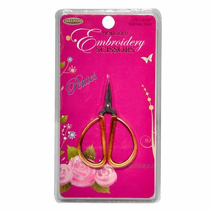 Heirloom Embroidery Scissors - Petite