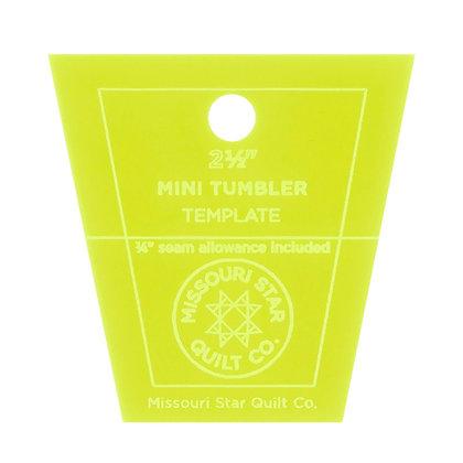 "Tumbler Template - 2-1/2"" - Mini"