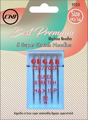 Clover Best Premium Needles - Super Stretch - Size 90/14
