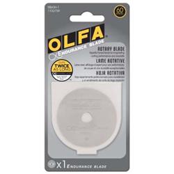 Olfa 60mm Endurance Rotary Blades - 1 pack