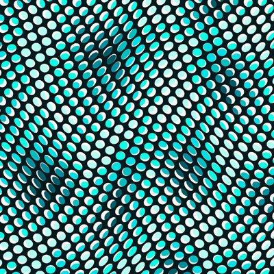 Quilter's Coordinates Aqua by Stof - 1/2 meter