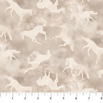 Maverick - Horse Toss Beige - 1/2 meter