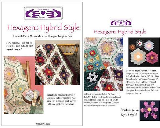 Hexagons Hybrid Style Pattern - Marti Michell