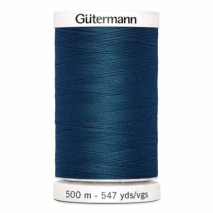 Gutermann 100% Polyester Thread - 500m - Peacock