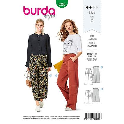 Burda Pants Pattern #6250