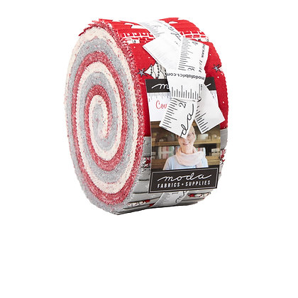 "Country Christmas - Jelly Roll - 2-1/2"" Strips"