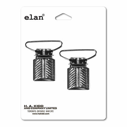 Suspender Clips - 25mm (1″) - Silver