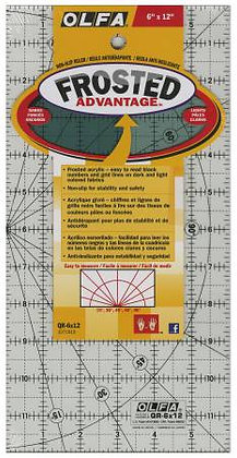 "Olfa Ruler - 6"" x 12"""