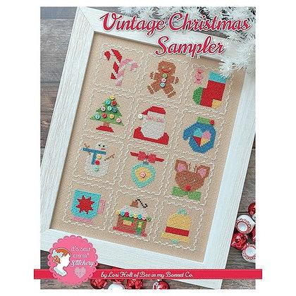 Vintage Christmas Sampler Pattern