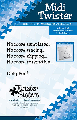 "Midi Twister - 6-1/2"" Squares"
