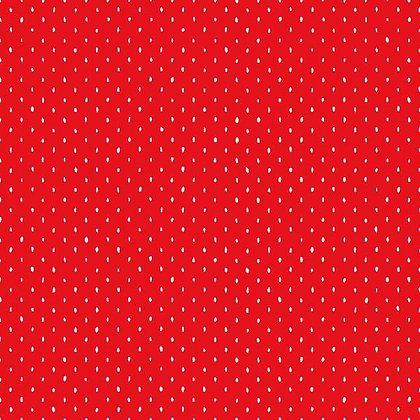 Cotton and Steel Basics - Stitch Strawberry - 1/2 meter