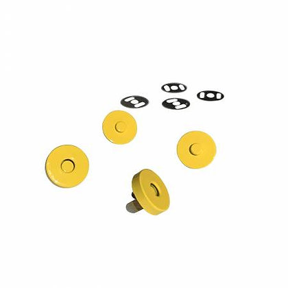 """Magnetic Snaps - 3/4"""" - Yellow"""