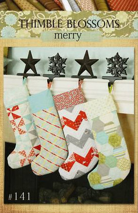 Thimble Blossoms Merry Stockings